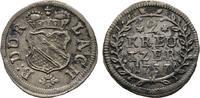 2 Kreuzer 1737. diverse Karl Wilhelm, 1709-1738 Vorzüglich  60,00 EUR  zzgl. 4,50 EUR Versand