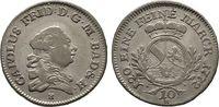 10 Kreuzer 1772. Diverse Karl Friedrich, 1746-1803, 1803-1806 Kurfürst,... 50,00 EUR  +  6,00 EUR shipping