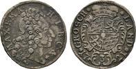3 Kreuzer 1721. Diverse Maximilian II. Emanuel, 1679-1726 Sehr schön  50,00 EUR  +  6,00 EUR shipping
