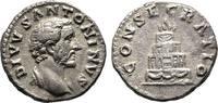 Denar 161, Rom, auf seine Konse Kaiserliche Prägungen Marcus Aurelius f... 50,00 EUR  zzgl. 4,50 EUR Versand