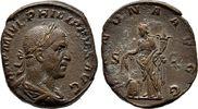 Sesterz 245/247, Kaiserliche Prägungen Philippus I. Arabs, 244-249.   100,00 EUR  +  6,00 EUR shipping