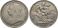 Crown 1897, Grossbritannien Victoria, 1837-1901, 1877 Kaiserin von Indi... 35,00 EUR  +  6,00 EUR shipping