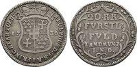 20 Kreuzer 1736,  Adolf von Dalberg, 1726-1737   170,00 EUR  +  6,00 EUR shipping