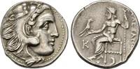 Drachme im Namen Alexanders III. des Große...