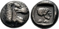 Drachme 520/495 v. Chr. Karien    600,00 EUR  +  6,00 EUR shipping
