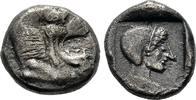 Hemidrachme 520/495 v. Chr. Karien  Sehr schön  250,00 EUR  +  6,00 EUR shipping