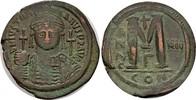 Follis Jahr 12 (= 538/539), Byzanz Justinianus I., 527-565.   100,00 EUR  zzgl. 4,50 EUR Versand