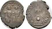 Hexagramm 625/629,  Heraclius, 610-641, mit Heraclius Constantinus.   90,00 EUR  zzgl. 4,50 EUR Versand