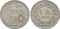 Franken 1861 B, Schweiz  Sehr schön  75,00 EUR  +  6,00 EUR shipping