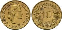 10 Rappen 1918 B, Schweiz  Sehr schön  40,00 EUR  +  6,00 EUR shipping