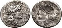 Denar 116/115 v. Chr., Republikanische Prägungen M. Sergius Silus Sehr ... 190,00 EUR  zzgl. 4,50 EUR Versand