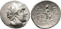 Drachme Jahr 33 (188/7 v. Chr.), Kappadokien Ariarathes IV. Eusebes, 22... 240,00 EUR  zzgl. 4,50 EUR Versand