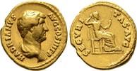Aureus 134/138, Kaiserliche Prägungen Hadrianus, 117-138. Sehr schön  2950,00 EUR kostenloser Versand