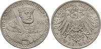 2 Mark 1908, SACHSEN-WEIMAR, GROSSHERZOGTUM Wilhelm Ernst, 1901-1918 Vo... 140,00 EUR  +  6,00 EUR shipping