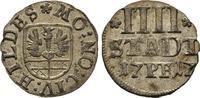 4 Pfennig 1717. Diverse  Sehr schön  35,00 EUR  zzgl. 4,50 EUR Versand