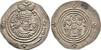 Drachme Jahr 32 (622), Reich der Sasaniden Khusro II., 590-628 Sehr sch... 50,00 EUR  plus 6,00 EUR verzending