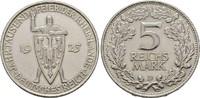 5 Mark 1925 D, WEIMARER REPUBLIK  Vorzüglich  100,00 EUR  +  6,00 EUR shipping
