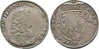 2/3 Taler nach zinnaischem Fuß 1678 CP, Zerbst. Sachsen-Anhalt Carl Wil... 100,00 EUR