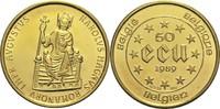 50 Ecu 1989 Belgien  St  655,00 EUR  +  19,80 EUR shipping