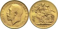 1 Pfund 1925 Südafrika Georg V. ss-vz  320,00 EUR  zzgl. 6,90 EUR Versand