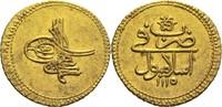 1 Zeri Istanbul AH 1115 (1703) Türkei / Osmanisches Reich Ahmed III. ss+  280,00 EUR  +  14,90 EUR shipping