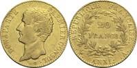 20 Francs AN XI A Frankreich Bonaparte Premier Consul 1799-1804 ss  690,00 EUR  +  19,80 EUR shipping