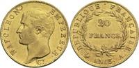 20 Francs AN 13 A Frankreich Napoleon I. 1804-1814, 1815 ss+  500,00 EUR