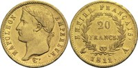 20 Francs 1811 A Frankreich Napoleon I. 1804-1814, 1815 ss+  300,00 EUR
