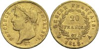 20 Francs 1812 A Frankreich Napoleon I. 1804-1814, 1815 ss+  300,00 EUR