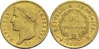 20 Francs 1808 M Frankreich Napoleon I. 1804-1814, 1815 ss  400,00 EUR