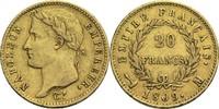 20 Francs 1809 M Frankreich Napoleon I. 1804-1814, 1815 ss  850,00 EUR