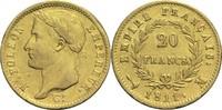 20 Francs 1811 M Frankreich Napoleon I. 1804-1814, 1815 ss  800,00 EUR