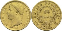 20 Francs 1812 M Frankreich Napoleon I. 1804-1814, 1815 ss-  700,00 EUR