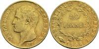 20 Francs 1806 I Frankreich Napoleon I. 1804-1814, 1815 ss  600,00 EUR