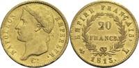20 Francs 1813 L Frankreich Napoleon I. 1804-1814, 1815 ss+  680,00 EUR