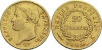 20 Francs 1809 K Frankreich Napoleon I. 1804-1814, 1815 ss  900,00 EUR