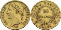 20 Francs 1810 W Frankreich Napoleon I. 1804-1814, 1815 ss  320,00 EUR