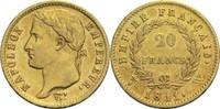 20 Francs 1811 W Frankreich Napoleon I. 1804-1814, 1815 ss  290,00 EUR