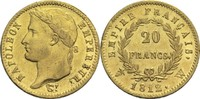 20 Francs 1812 W Frankreich Napoleon I. 1804-1814, 1815 ss+  380,00 EUR
