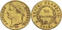 20 Francs 1815 W Frankreich Napoleon I. 1804-1814, 1815 ss  800,00 EUR