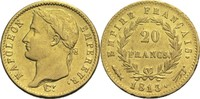 20 Francs 1813 Frankreich Napoleon I. 1804-1814, 1815 ss  400,00 EUR