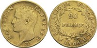 20 Francs 1806 U Frankreich Napoleon I. 1804-1814, 1815 ss  450,00 EUR