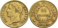20 Francs 1809 U Frankreich Napoleon I. 1804-1814, 1815 ss-  2400,00 EUR