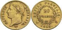 20 Francs 1812 U Frankreich Napoleon I. 1804-1814, 1815 ss  750,00 EUR