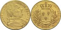20 Francs 1815 A Frankreich Ludwig XVIII. 1814, 1815-1824 ss+  270,00 EUR