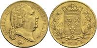 20 Francs 1816 A Frankreich Ludwig XVIII. 1814, 1815-1824 ss  300,00 EUR