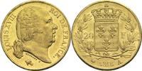 20 Francs 1819 A Frankreich Ludwig XVIII. 1814, 1815-1824 vz-  550,00 EUR