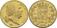 20 Francs 1821 A Frankreich Ludwig XVIII. 1814, 1815-1824 ss  500,00 EUR