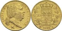 20 Francs 1823 A Frankreich Ludwig XVIII. 1814, 1815-1824 ss  450,00 EUR