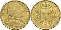 20 Francs 1814 W Frankreich Ludwig XVIII. 1814, 1815-1824 ss  320,00 EUR